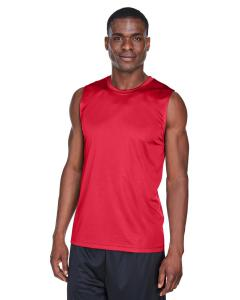 Sport Red Men's Zone Performance Muscle T-Shirt