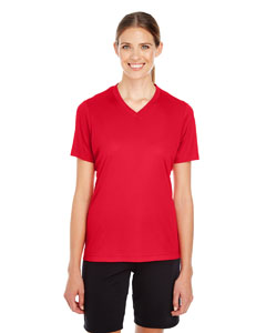 Sport Red Ladies' Zone Performance T-Shirt