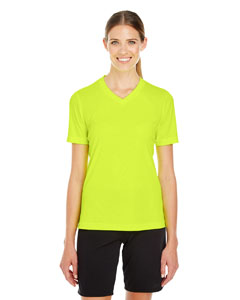 Safety Yellow Ladies' Zone Performance T-Shirt