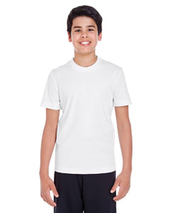 White Youth Zone Performance Tee