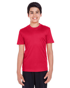 Sport Red Youth Zone Performance Tee