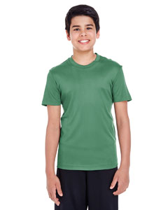 Sport Dark Green Youth Zone Performance Tee