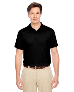 Black Men's Charger Performance Polo