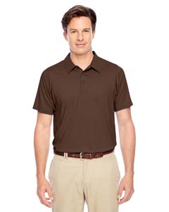 Sport Dark Brown Men's Charger Performance Polo