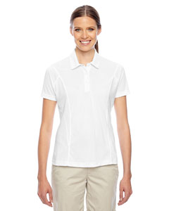 White Ladies' Charger Performance Polo