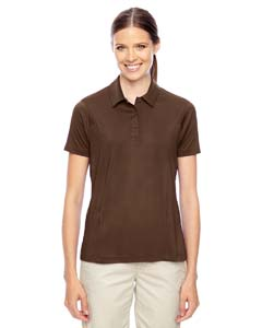 Sport Dark Brown Ladies' Charger Performance Polo