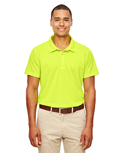 Safety Yellow Men's Command Snag-Protection Polo