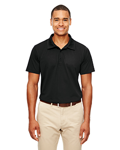 Black Men's Command Snag-Protection Polo