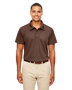 Sprt Dark Brown Men's Command Snag-Protection Polo