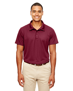Sport Maroon Men's Command Snag-Protection Polo