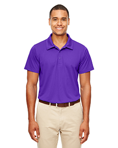 Sport Purple Men's Command Snag-Protection Polo