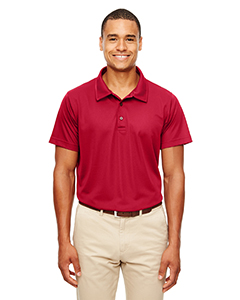 Sprt Scarlet Red Men's Command Snag-Protection Polo