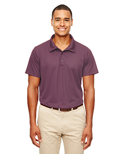 Sprt Dark Maroon Men's Command Snag-Protection Polo