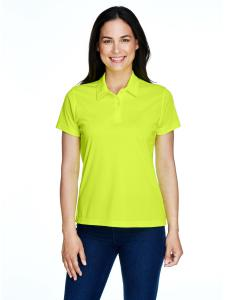 Safety Yellow Ladies' Command Snag Protection Polo