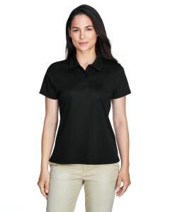Black Ladies' Command Snag Protection Polo