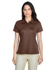 Sprt Dark Brown Ladies' Command Snag Protection Polo