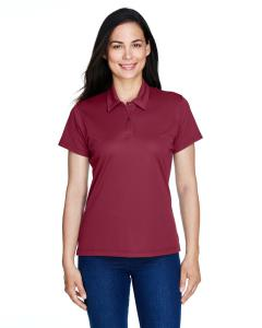 Sport Maroon Ladies' Command Snag Protection Polo