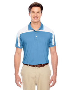 Sport Light Blue Men's Victor Performance Polo
