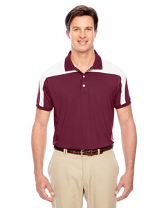 Sport Maroon Men's Victor Performance Polo