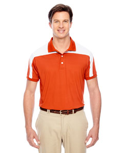 Sport Orange Men's Victor Performance Polo