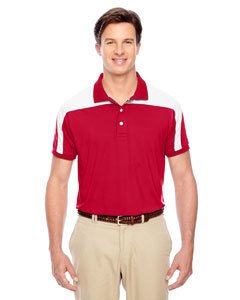 Sport Red Men's Victor Performance Polo