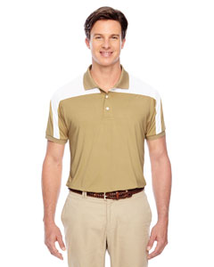 Sport Vegas Gold Men's Victor Performance Polo