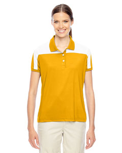 Sp Ath Gold/wht Ladies' Victor Performance Polo
