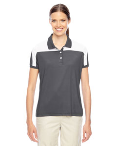 Sp Graphite/wht Ladies' Victor Performance Polo