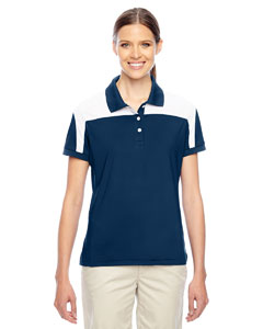 Sp Dk Navy/wht Ladies' Victor Performance Polo