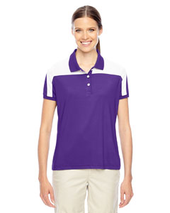 Sp Purple/wht Ladies' Victor Performance Polo