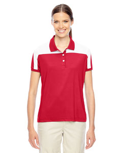 Sp Red/wht Ladies' Victor Performance Polo