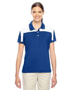 Sp Royal/wht Ladies' Victor Performance Polo