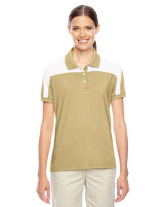 Sp Vegas Gld/wht Ladies' Victor Performance Polo