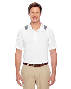 White Men's Innovator Performance Polo