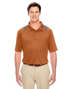 Sp Burnt Orange Men's Innovator Performance Polo