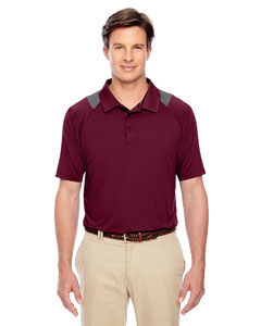 Sport Maroon Men's Innovator Performance Polo