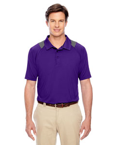 Sport Purple Men's Innovator Performance Polo