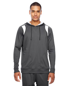 Sp Graphite/wht Men's Elite Performance Hoodie