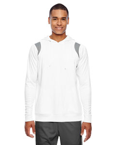 Wht/sp Graphite Men's Elite Performance Hoodie