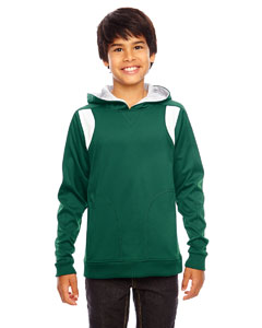Sp Forest/wht Youth Elite Performance Hoodie