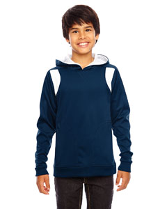 Sp Dk Navy/wht Youth Elite Performance Hoodie