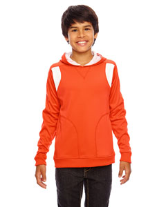 Sp Orange/wht Youth Elite Performance Hoodie