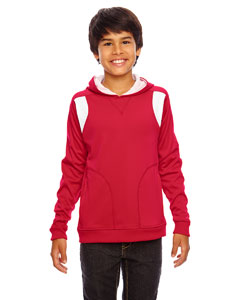 Sp Red/wht Youth Elite Performance Hoodie