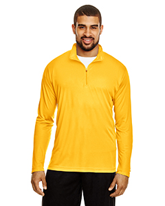 Sp Athletic Gold Men's Zone Performance Quarter-Zip