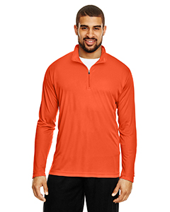 Sport Orange Men's Zone Performance Quarter-Zip