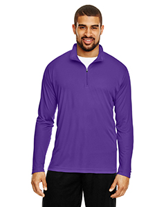 Sport Purple Men's Zone Performance Quarter-Zip