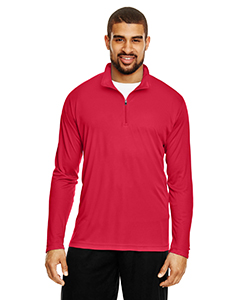 Sport Red Men's Zone Performance Quarter-Zip