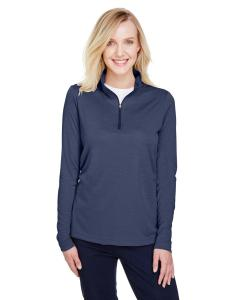 Sp Drk Nvy Hth Ladies' Zone Sonic Heather Performance Quarter-Zip