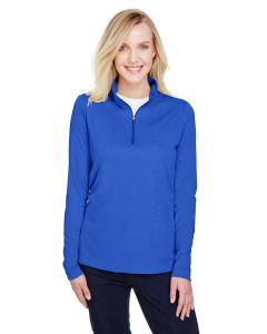 Sp Royal Heather Ladies' Zone Sonic Heather Performance Quarter-Zip