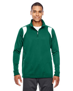 Sp Forest/wht Men's Elite Performance Quarter-Zip